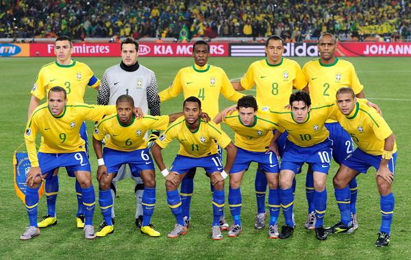 сильнейшие клубы бразильского футбола пробовал носить