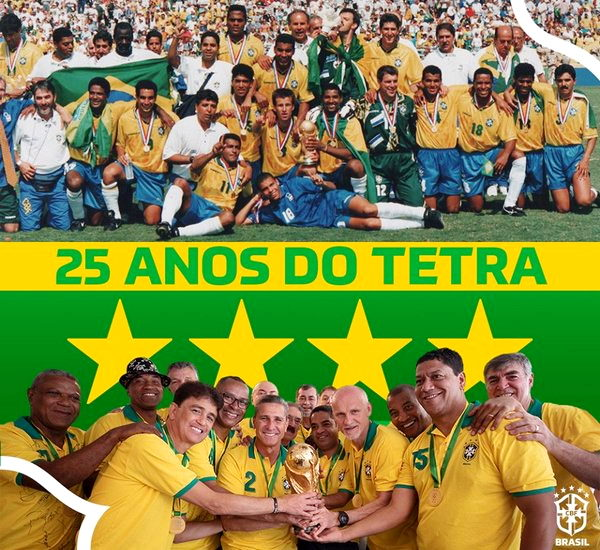 Сборная Бразилии по футболу - четырехкратный чемпион мира