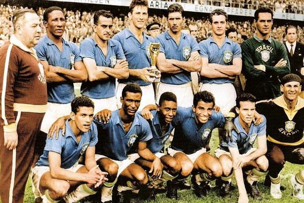 Сборная Бразилии на чемпионате мира по футболу 1958 года