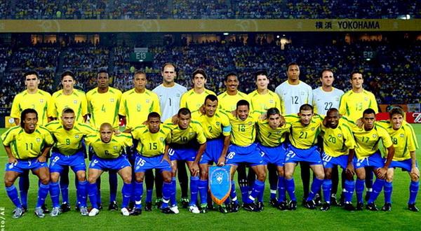 Команда бразилии по футболу состав