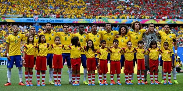 Сборная Бразилии на чемпионате