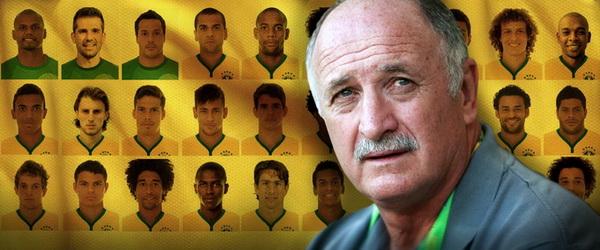 тренер сборной Бразилии по