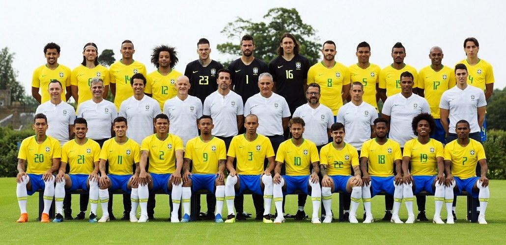 Состав сборной бразилии по футболу на английском
