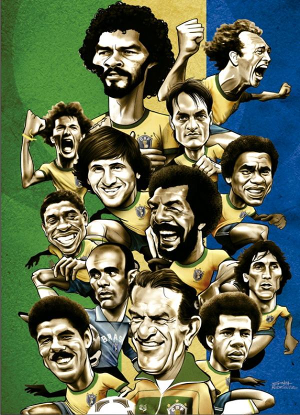 Сборная Бразилии на чемпионате мира по футболу 1982 года
